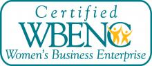 women-owned business enterprise logo