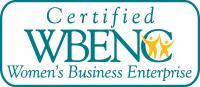 women-owned business enterprise logo